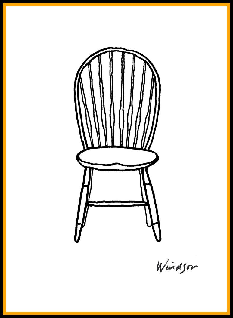 82 Reference Of Chair Simple Cartoon In 2020 Chair Drawing Art Chair Retro Furniture