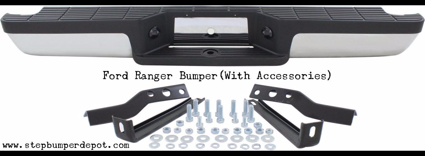 Step Bumper Depot Is One Stop Where You Can Get Ford Ranger Rear Bumper Replacement Services With Huge Discount You Can Place Your Order And Get The Replac
