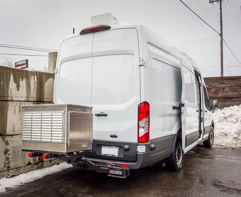 Work Van Rear Cargo Hvac And Heating System Installations Hvac