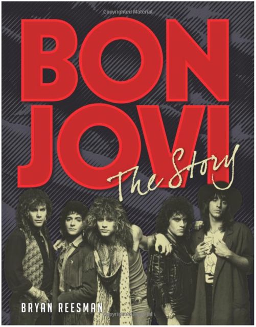 BON JOVI: The Story - New Book Coming In November; Includes Interviews With ROB HALFORD, HERMAN RAREBELL, etc.!