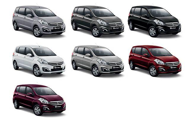 Pilihan Warna Suzuki New Ertiga Dan Spesifikasi Lengkap