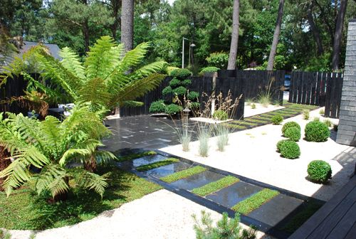 Jardin design id es jardin pinterest correspondant for Objet jardin japonais