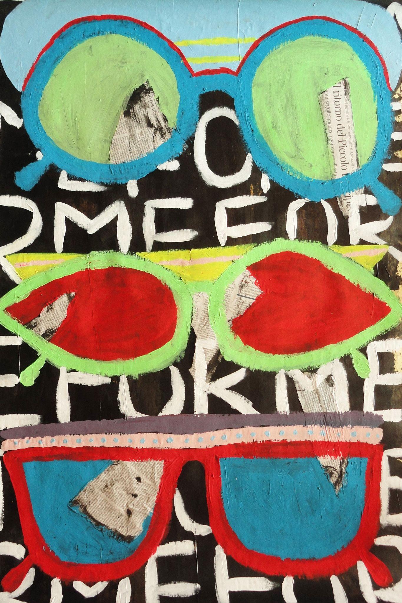 SENZA TITOLO - 2012 - acrilico su carta - by Volumnia Fontana