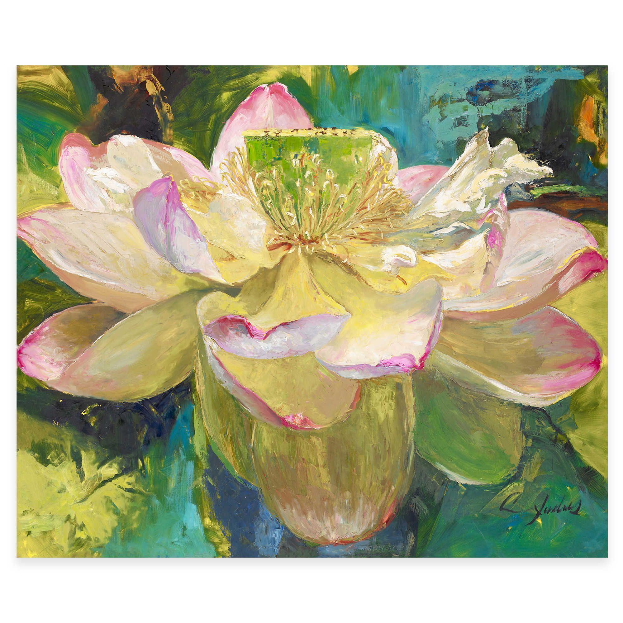 Ocean Bloom Canvas Wall Art | Wall Art | Pinterest | Canvas walls