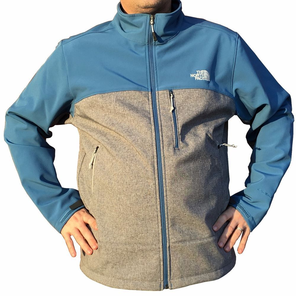 THE NORTH FACE Mens XL Apex BIONIC JACKET Heather Gray