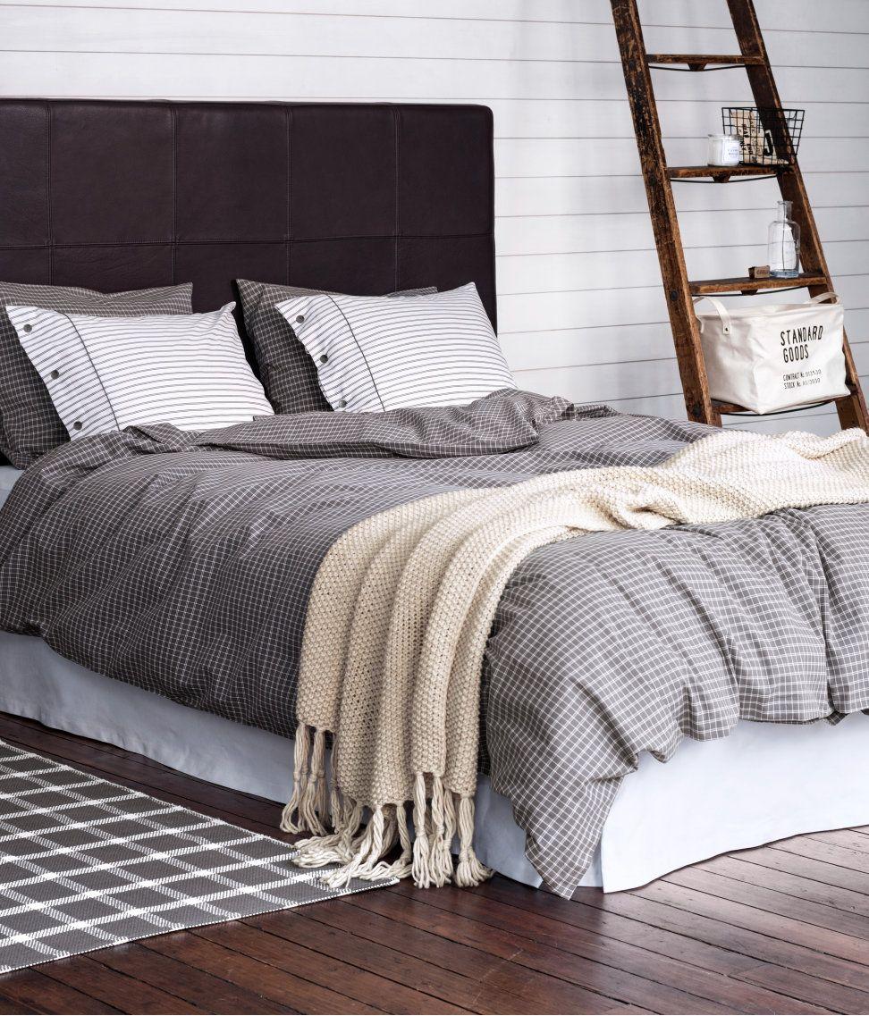 duvet cover set hmhome eve dair her ey pinterest schlafzimmer bettw sche ve doppelbett. Black Bedroom Furniture Sets. Home Design Ideas