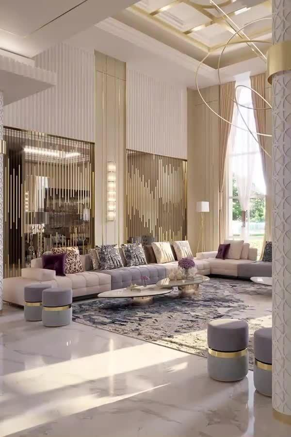 Dream dream living room interiors videos by Spazio