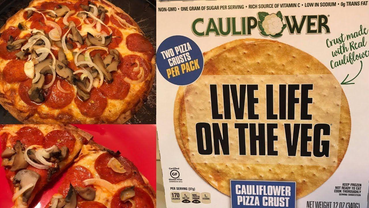 Caulipower Pizza Gluten Free Pizza Cauliflower Pizza Crust Premade Pizza Crust Cauliflower Crust Pizza Gluten Free Recipes Easy