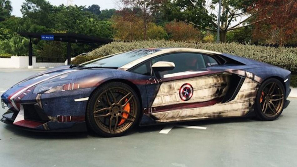 Cruise down the block in your very own superhero car Car