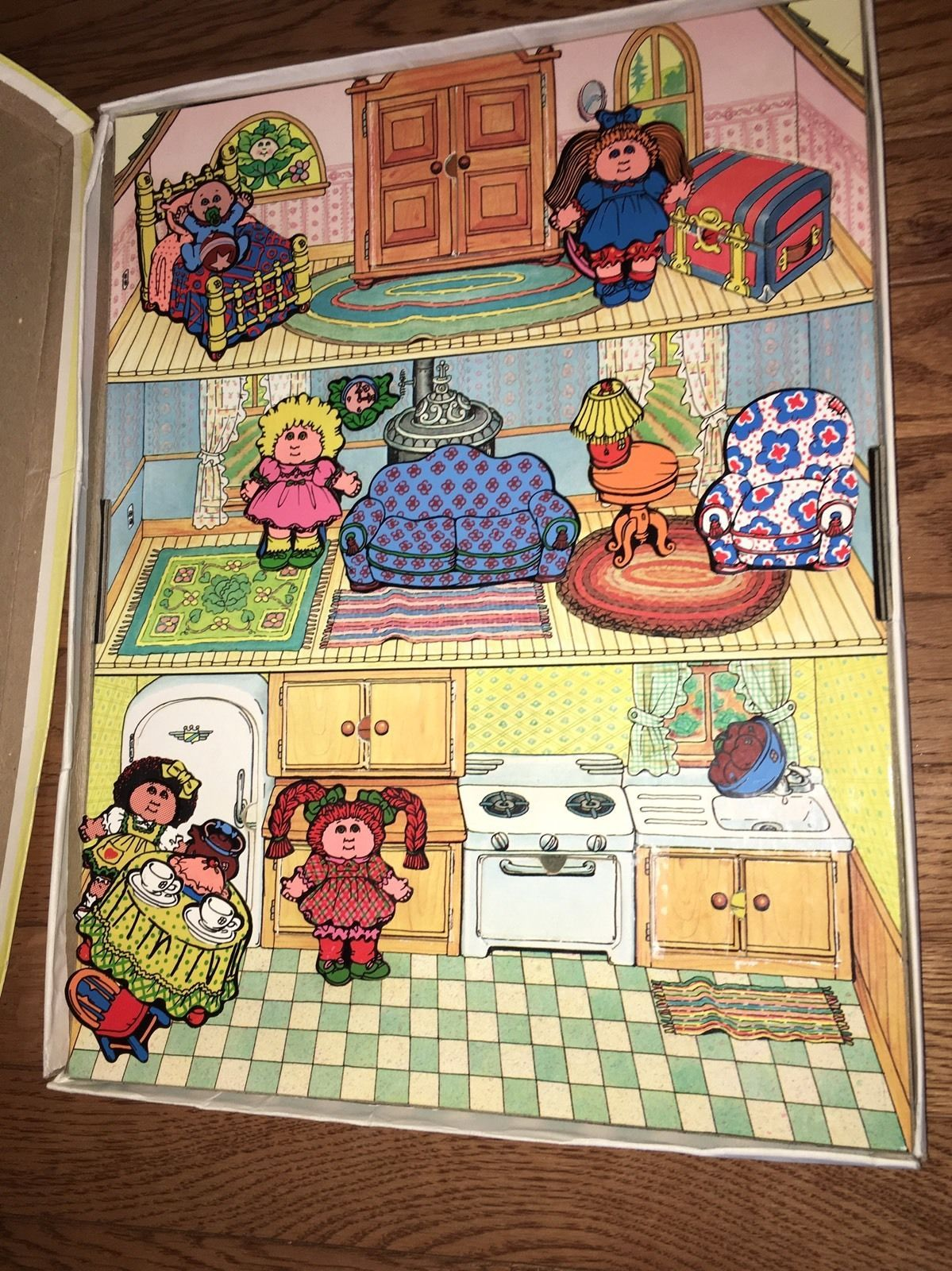 Lot of 7 Cabbage Patch Kids Doll Accessories: Puzzles Colorforms Paper Dolls Etc  | eBay #dollaccessories