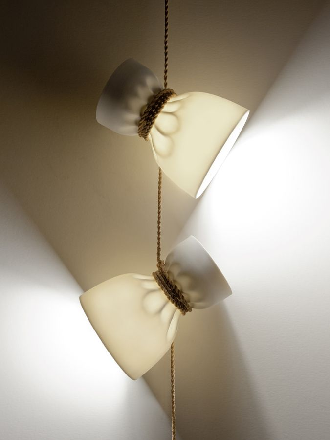 Crease sconce by simon naouri for triode edition