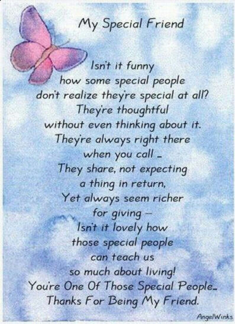 Some Special Quotes About Friendship I Am Blessed To Have A Friend In You♡  Smile Words  Pinterest