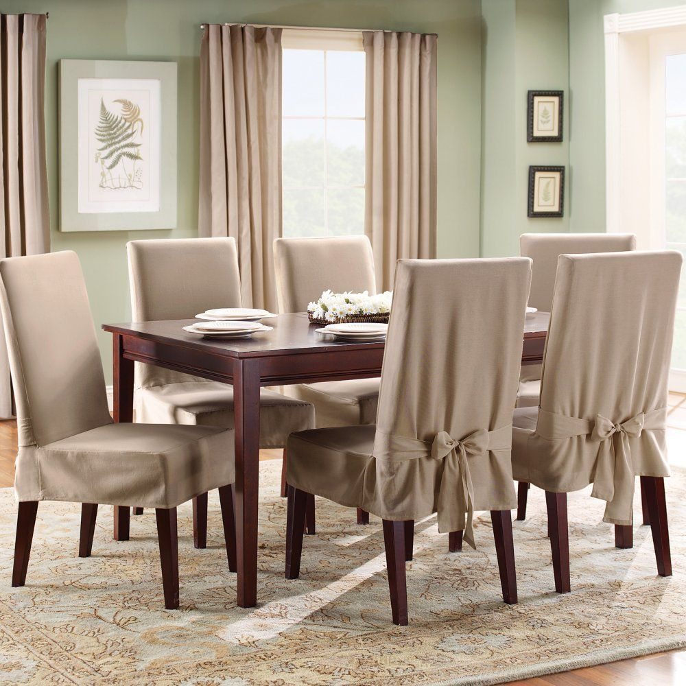 Dining Room Chair Covers Brown dining room. divine slipcovers for dining room chairs : formal