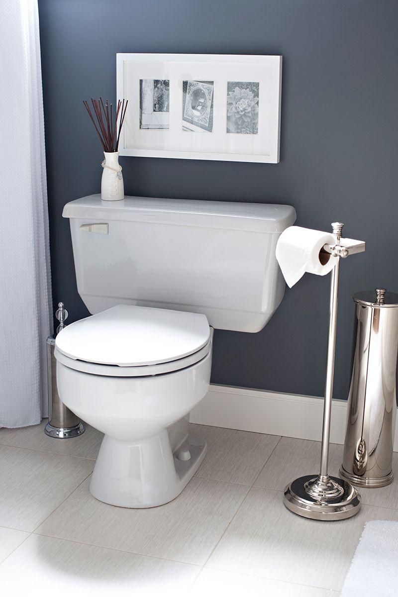 Benjamin moore colors for bathroom - Benjamin Moore Trout Gray Nice For Downstairs Bathroom