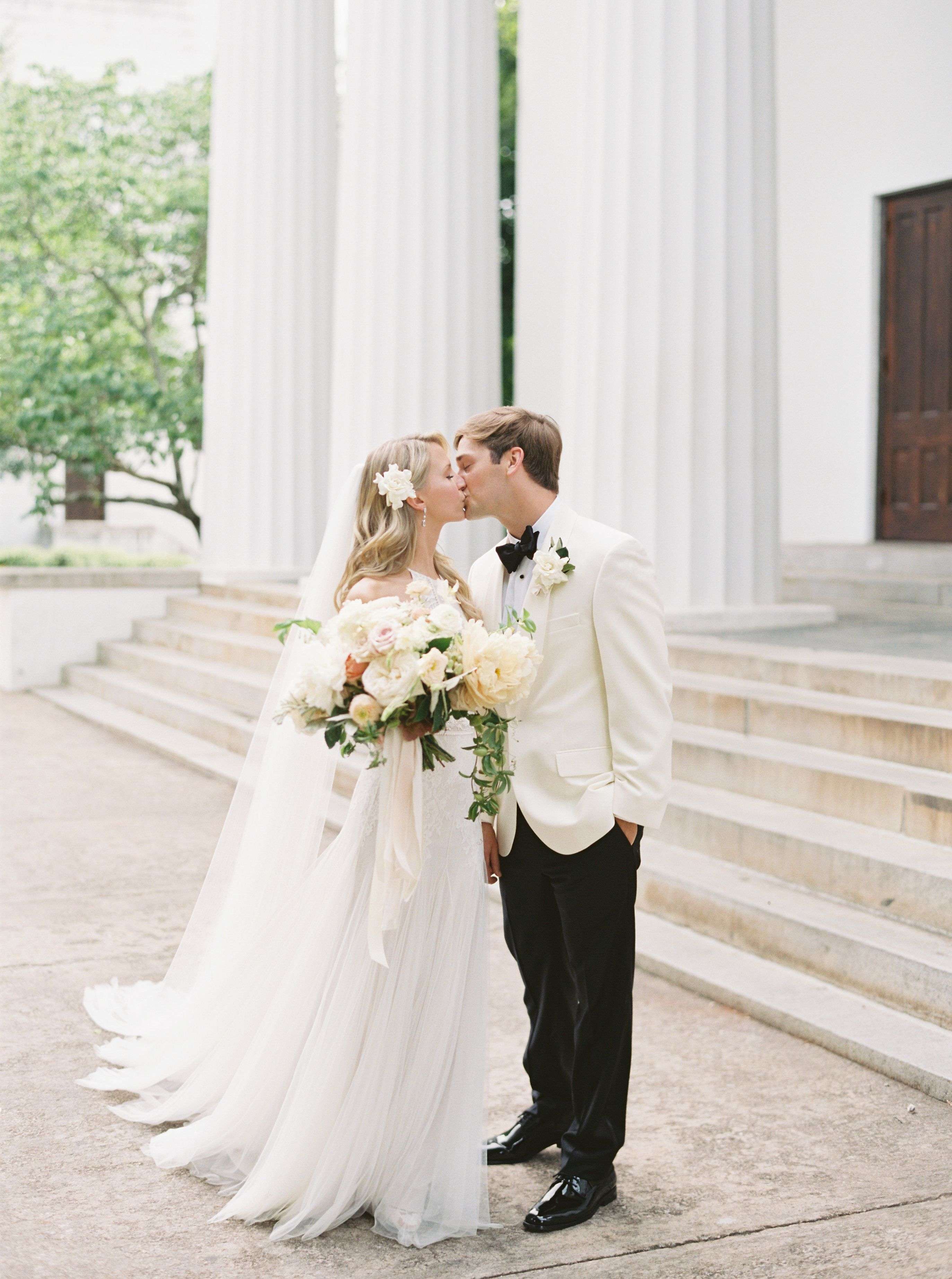 A wedding at hall in athens with southern charm