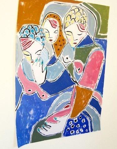 Alison Glanville Jones - Watching Woman – Buy Some Damn Art