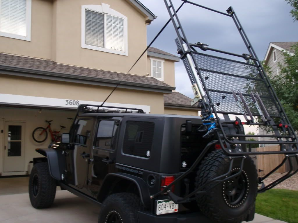 A proven roof racking / tent system for Jeep Wrangler Unlimited ? - Expedition Portal & A proven roof racking / tent system for Jeep Wrangler Unlimited ...
