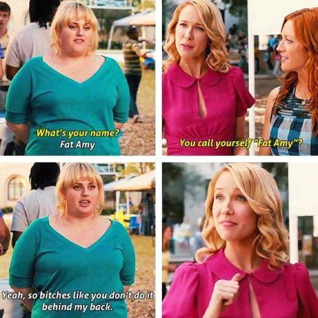 """Hahaha...I'd like to thank all the little ppl. Can't wait to see this movie """"Pitch Perfect"""""""
