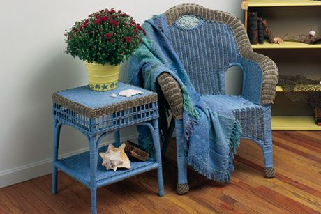 Beautiful DIY Furniture · Watercolor Wicker Furniture