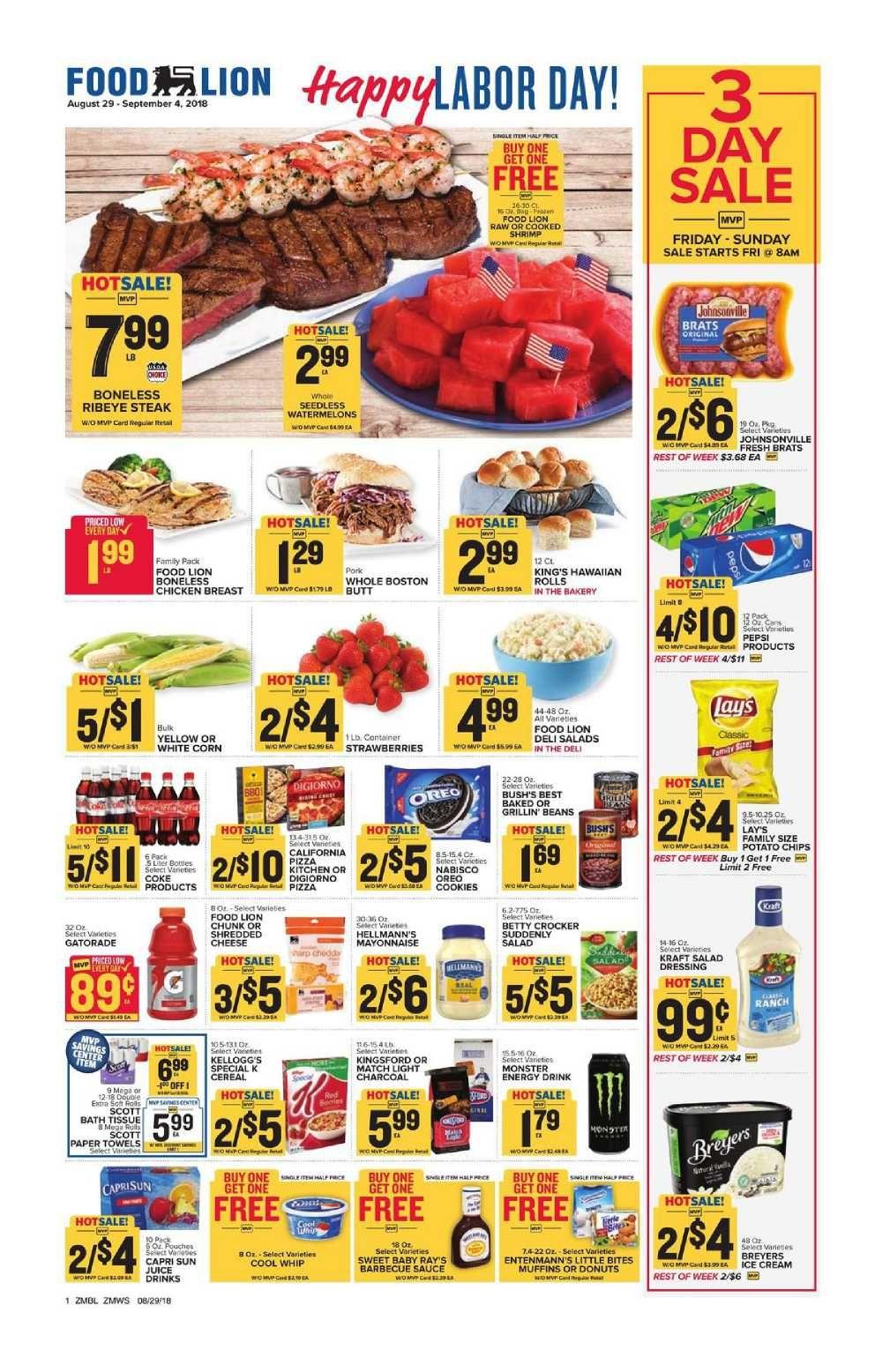 Food lion weekly ad flyer apr 14 apr 20 2021