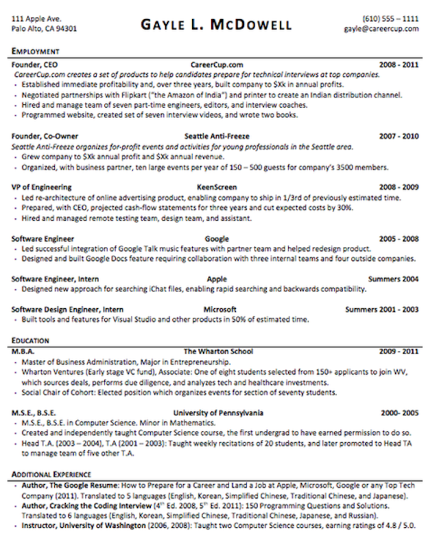 the anatomy of the perfect resume pinterest perfect resume