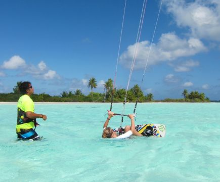 Zephyr Kite Tours Cocos Islands 14 Cocos Island Kite Surfing Island