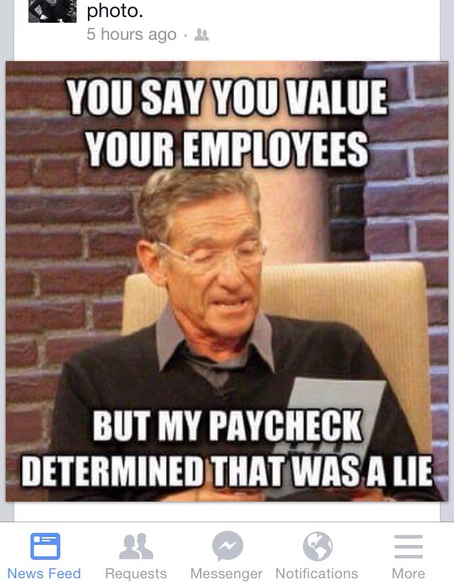 Funny paycheck quotes about your job at work with the boss