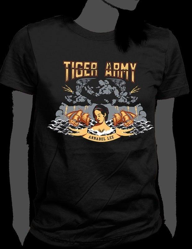 Annabel Lee   Tiger Army   Tiger Army Annabel Lee Girls T-Shirt
