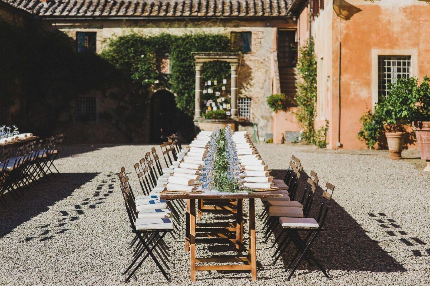 Real Wedding: Holly & Alex's Tuscan Vineyard Wedding / Jean-Laurent Gaudy Photography
