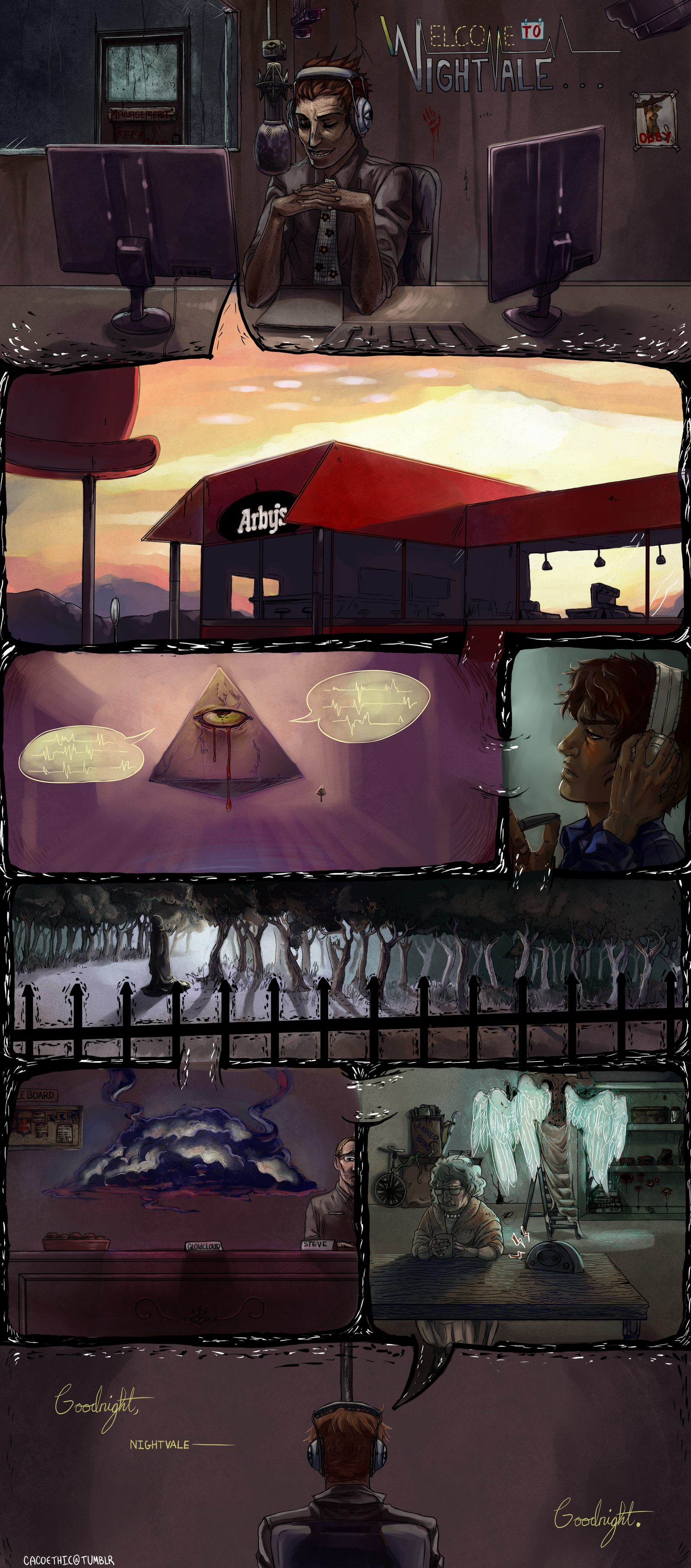 Welcome to Night Vale. by cacogenic.deviantart.com on @deviantART
