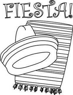 Enjoy These Fiesta Coloring Pages Many Of Them Free Printable And Crafts Set A Festive Tone For Childrens Party With