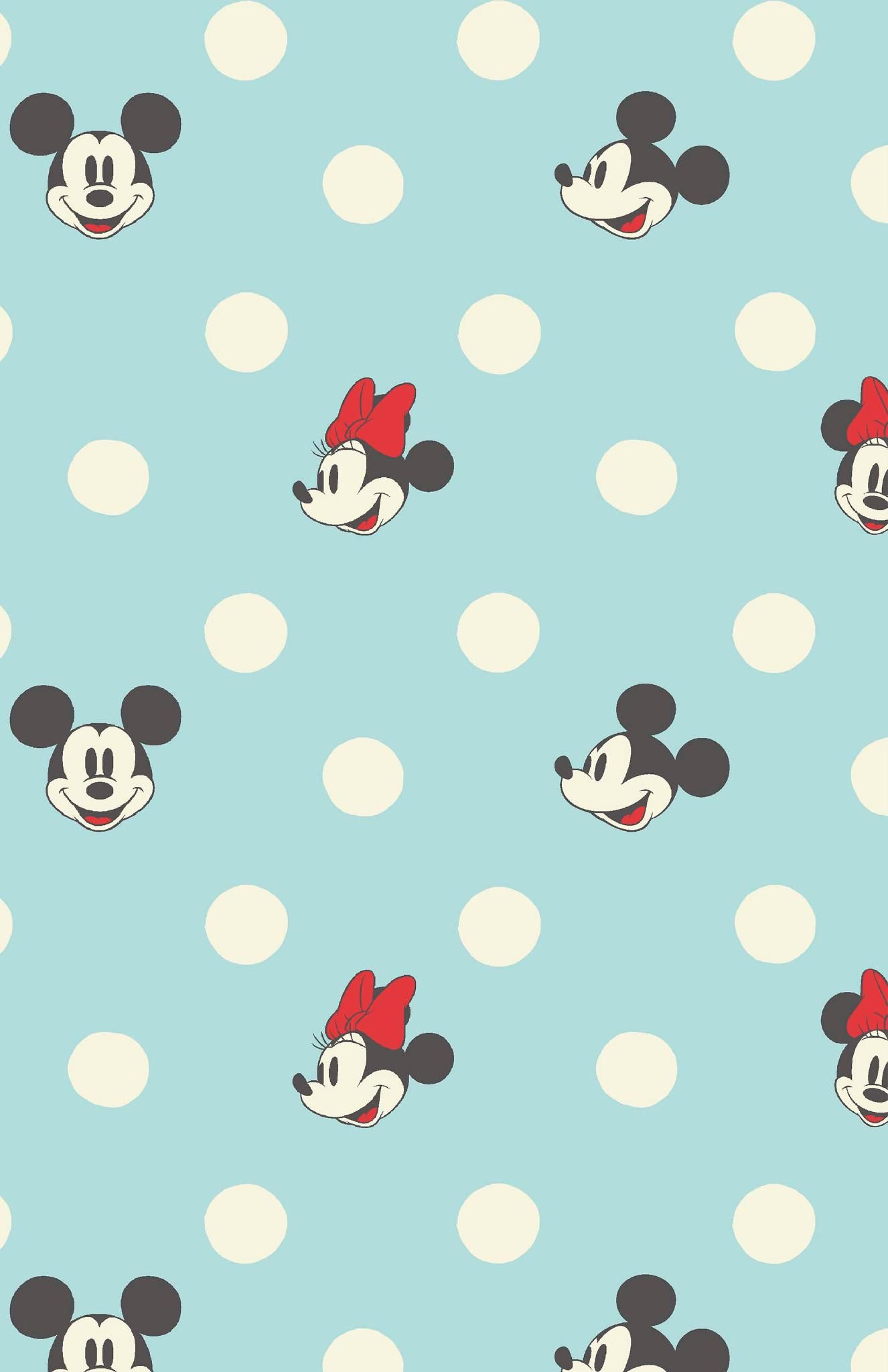 Minnie and Mickey Spot Mickey mouse wallpaper iphone