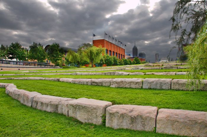9. Relax at the Celebration Plaza and Amphitheatre.