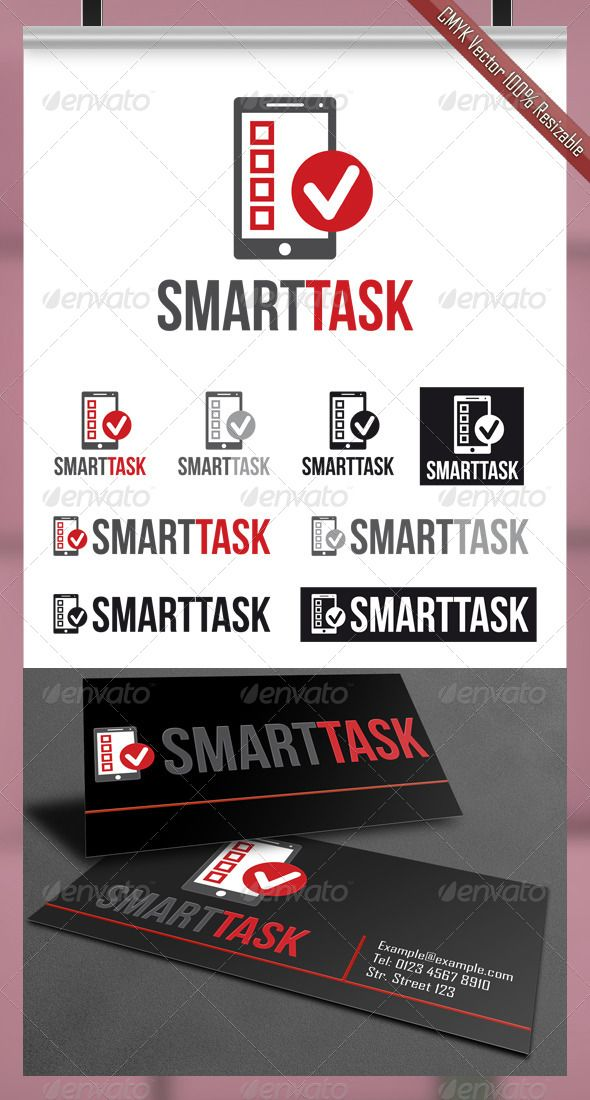 SmartTask Logo GraphicRiver SmartTask Logo Design