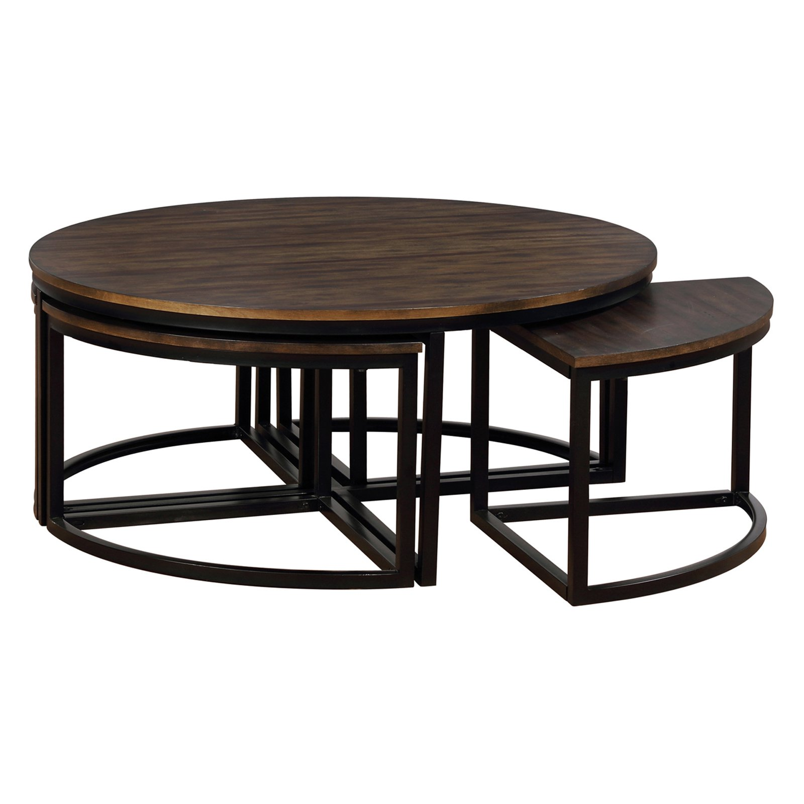 Alaterre Arcadia Round Nesting Coffee Table Set In 2019