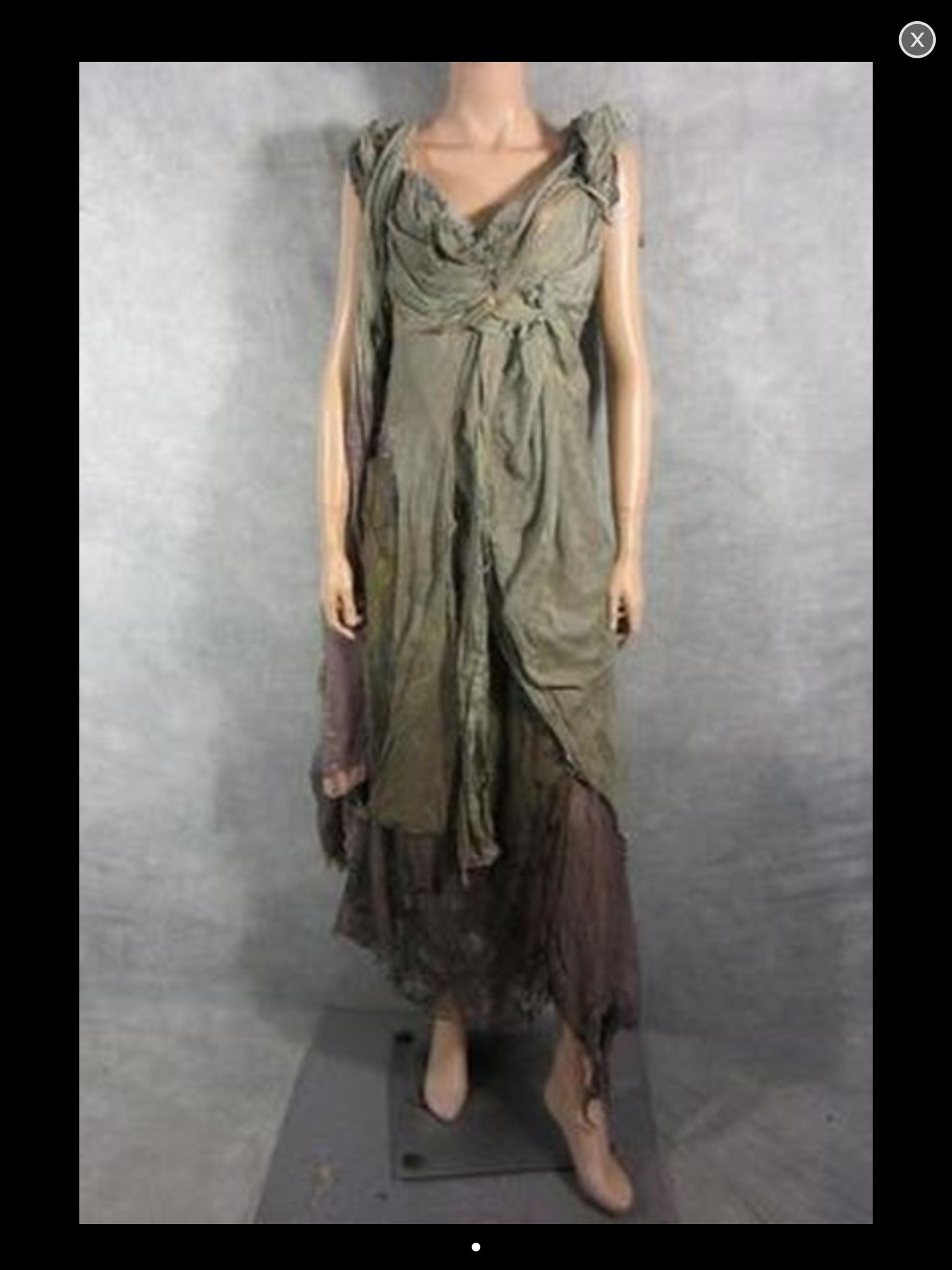Roman gown from Spartacus | Spartacus Dresses | Pinterest ...