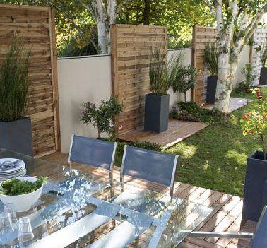 Terrasse en bois naturel et bois composite pas cher Outdoor ideas