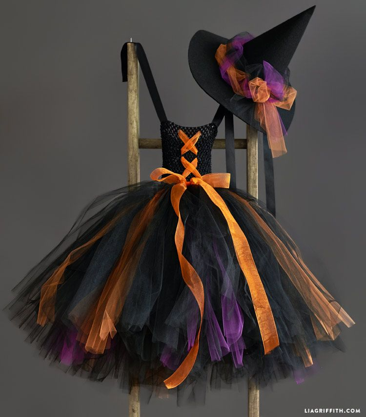 Kid S Diy Witch Costume Follow This Simple Tutorial To Make Today