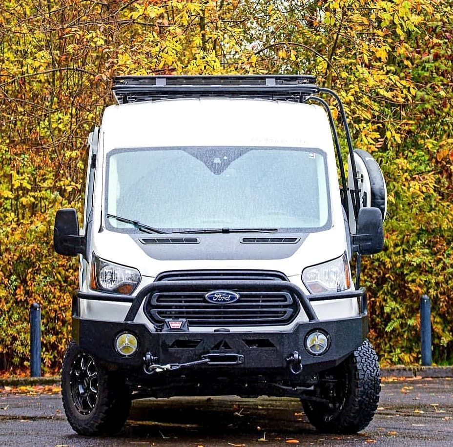 Image May Contain Car And Outdoor Ford Transit Ford Transit