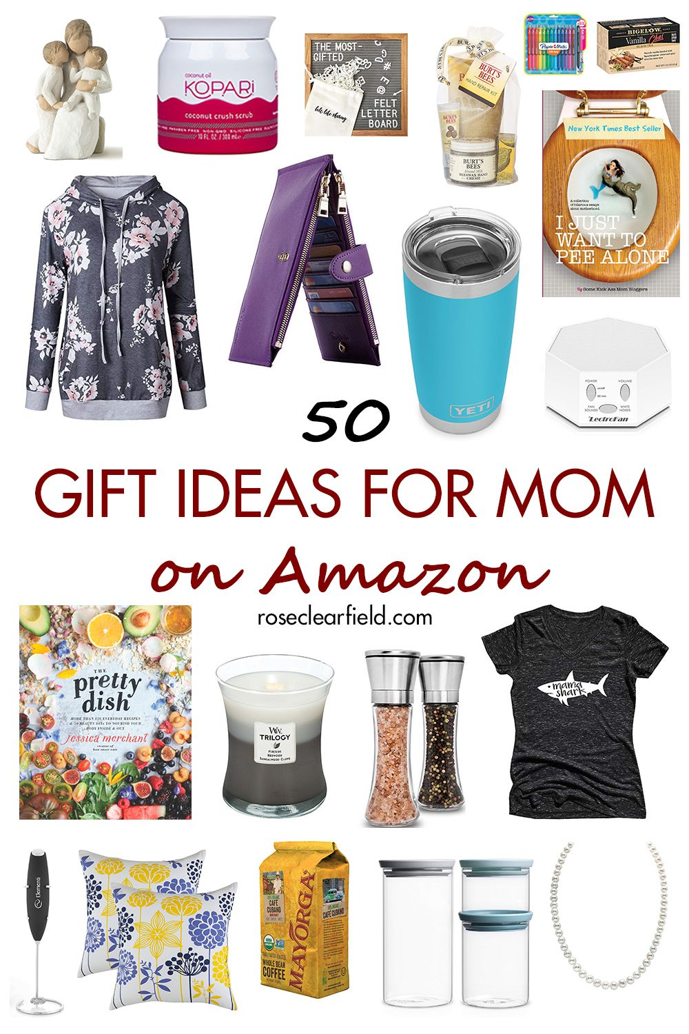 50 gift ideas for mom on amazon mothers day gifts amazon
