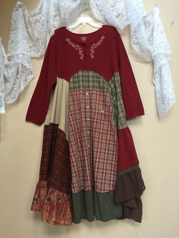 Shabby chic plus size dresses