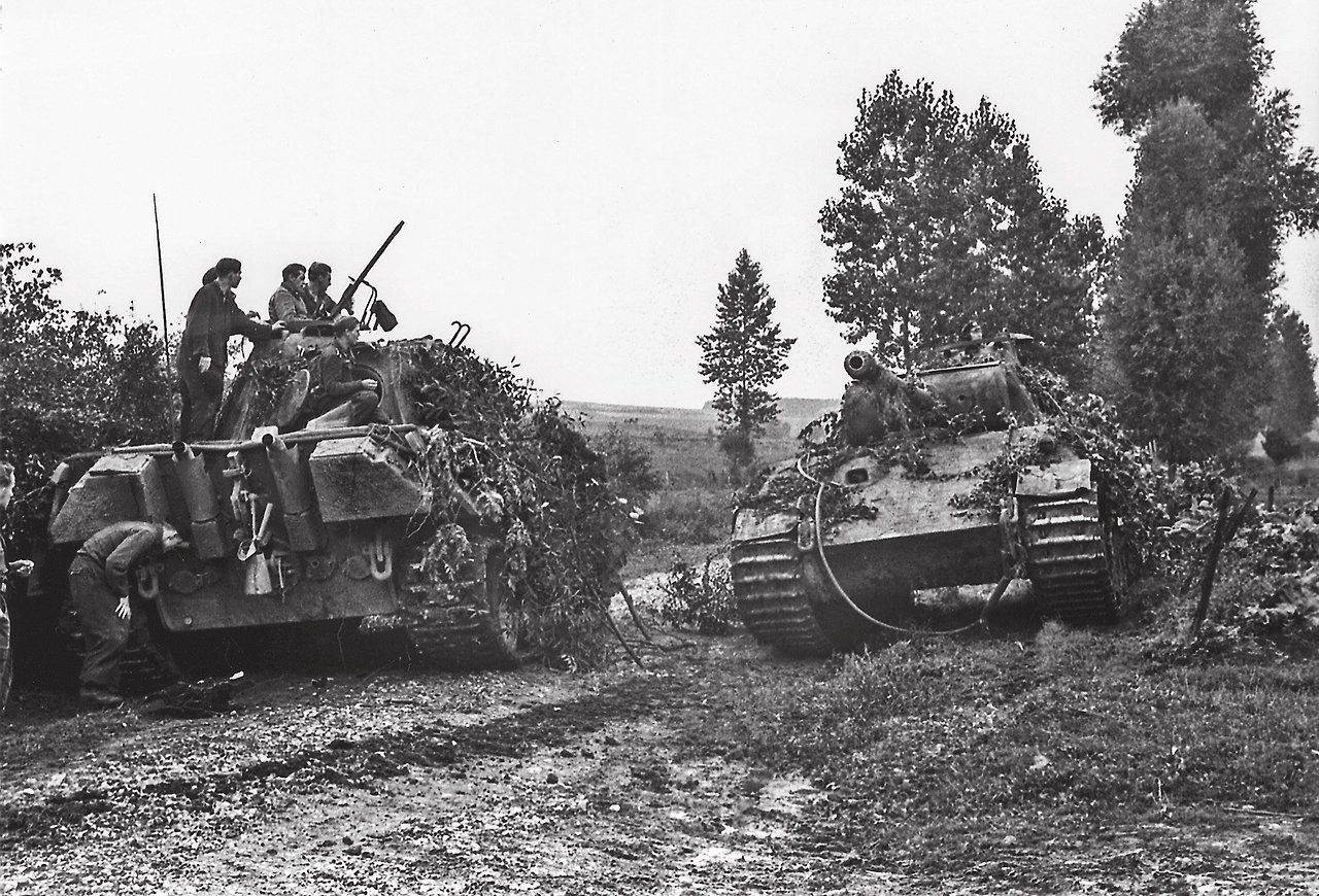 PanzerPionier German tanks, Panther tank, Wwii