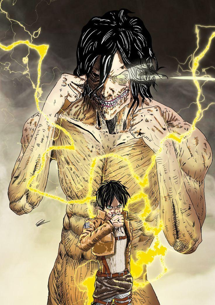 Attack on Titan Eren Yeager & Attack Titan Attack on