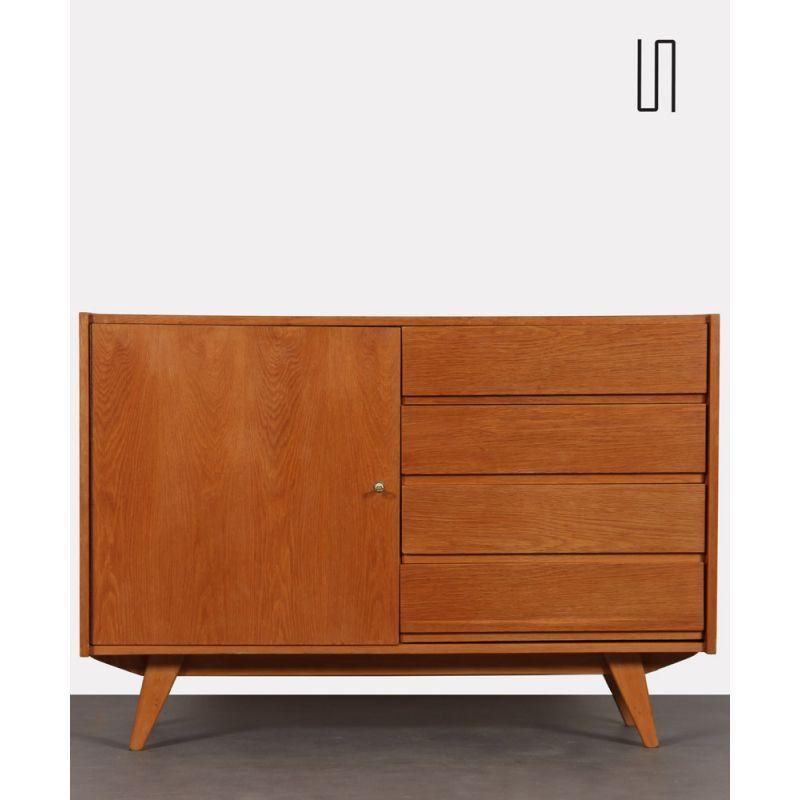 Vintage chest of drawers model U-458 by Jiroutek for Interier Prah …