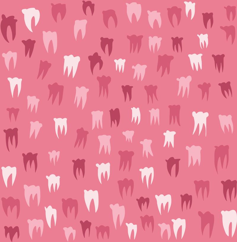 Teeth Pattern by Jonas Welin