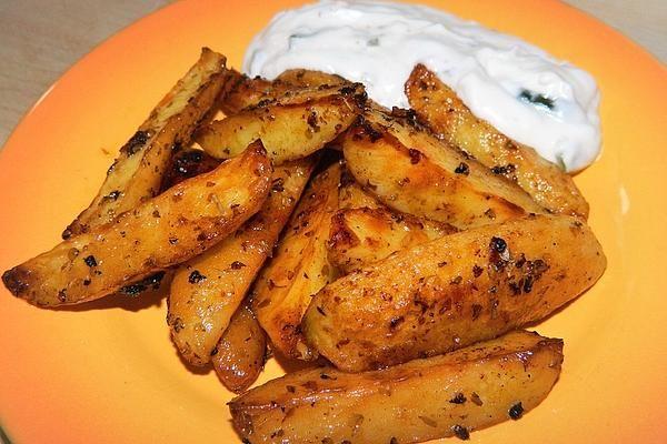 Griechische Knoblauchkartoffeln von handsabumsadaisy | Chefkoch #potatowedgesselbermachen