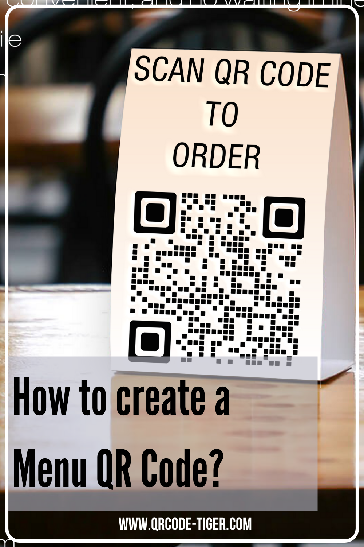 How To Create A Qr Code For Menu Menu Design Ideas Designs For Menu Restaurant Ideas Diy Qr Code Business Card Coding Menu Design