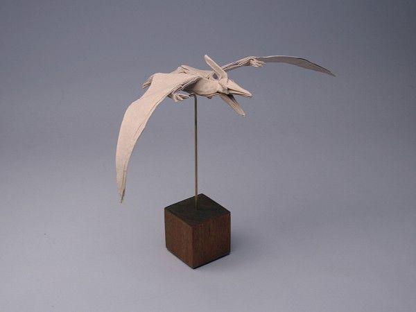 Pteranodon origami door Robert J. Lang & Pteranodon origami door Robert J. Lang | Fabulous Art | Pinterest ...