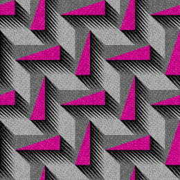 80s Pattern pink