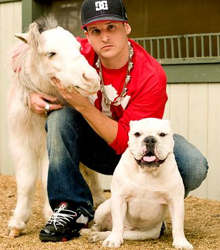 Rob Dyrdek And Mini Horse Images Graphics Comments And Pictures Myspace Fr Mini Horse Rob Dyrdek Rob And Big